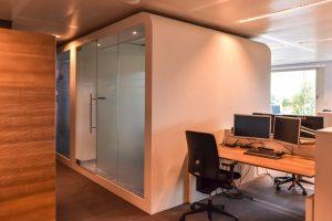 Rabobank - Werkruimte en Acoustic Booth