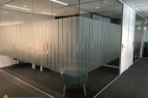 Glaswand systeemwand