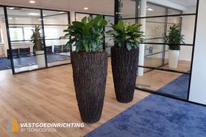 Plant kantoor