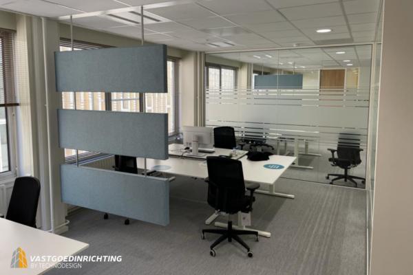 Kantoor Reclassering Glaswand - systeemwand - monobloc