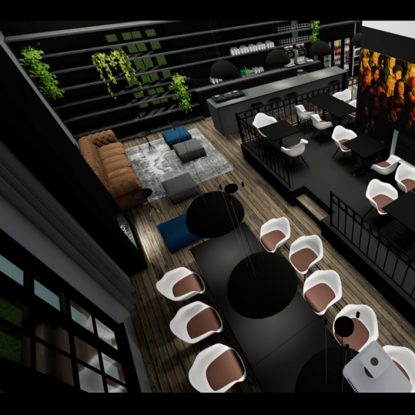 Concept kantoorkantine